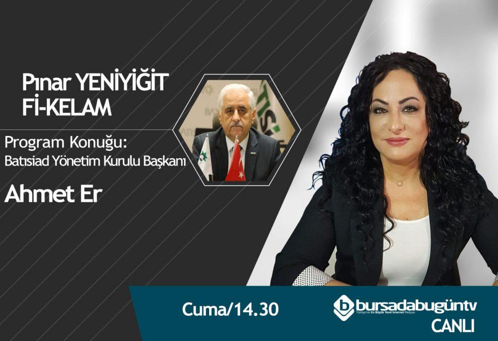 Yönetim Kurulu Başkanımız Ahmer Er, Pınar Yeniyiğit İle Fi-Kelam programına konuk oldu